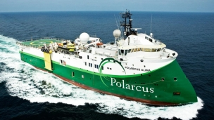 Polarcus 3D seismic vessel contracted offshore Sierra Leone by TGS-NOPEC