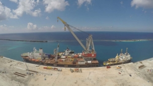 Seaway Heavy Lifting has entered into a contract with Cardon IV in Venezuela for transportation and installation of the Perla project gas production platforms complete with tie-in of the subsea infrastructure