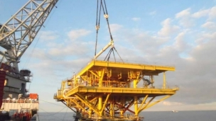 Seaway Heavy Lifting has successfully installed four topsides and a jacket in the Gulf of Mexico