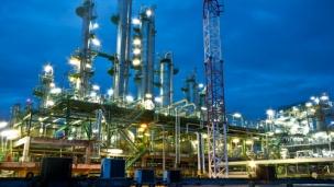 Oil refinery complex