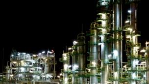 Petroleum refinery and polypropylene plant