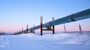 A Russian pipeline