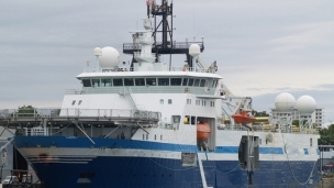 Offshore 3D seismic survey