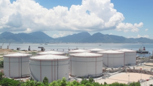China: CNPC tanks for Burma terminal near completion