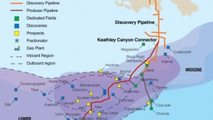 Williams, through its general partner ownership of Williams Partners, today announced with DCP Midstream Partners, LP that the new extended Discovery natural gas gathering pipeline system is now flowing natural gas