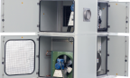INTERTEC's new explosion-proof HVAC system is an all-in-one design that handles ventilating, heating, cooling, dehumidifying, air filtering, purging and pressurisation of shelters in hazardous areas.